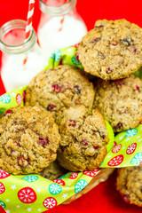 Crunberry muffin