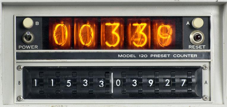 scientific counting machine
