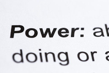"""Power"" Definition"