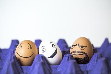 """Jealous """"eggs"""" boyfriend"""