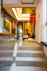 the interior decoration with Chinese style