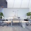 moderne, schlichter Arbeitsplatz - modern workplace in agency