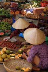 Vibrant asian market