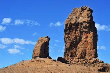Roque Nublo monolith in Gran Canaria, Spain Wall mural