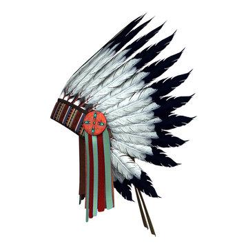 Native American War Bonnet