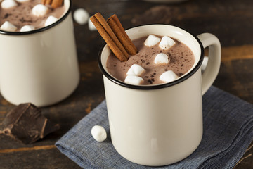 Gourmet Hot Chocolate Milk Wall mural