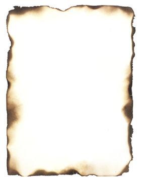 Burned Edges Frame