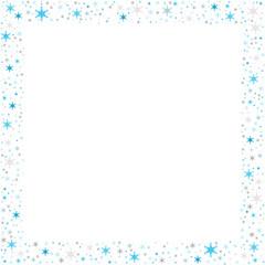 cadre composé d'étoiles