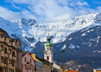 Wall Mural - Old town in Innsbruck Austria
