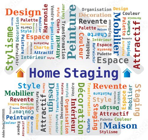 nuage de mots home staging en fran ais d coration d 39 int rieur fichier vectoriel libre de. Black Bedroom Furniture Sets. Home Design Ideas