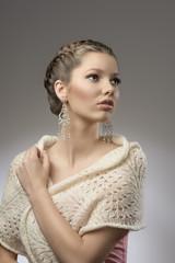 fashion elegant pretty girl