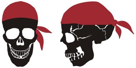 as pirat totenkopf