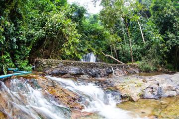 above of Punyaban waterfall