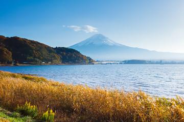 Mountain Fuji in autumn