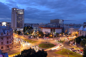 University Square, Bucharest, Romania