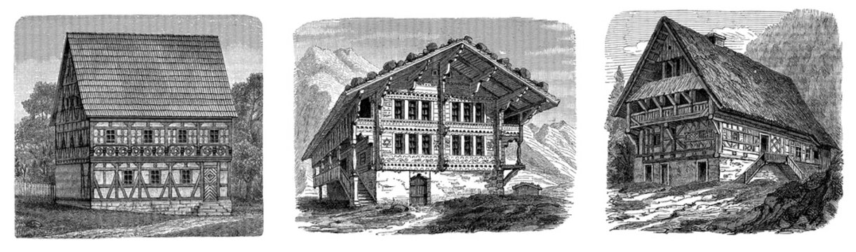 Traditional Peasants Houses 2