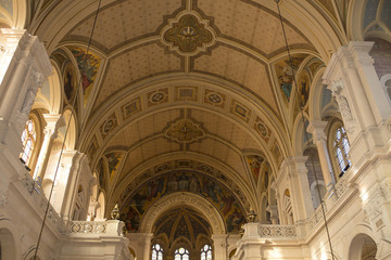 interiors of La Trinite church, Paris, France