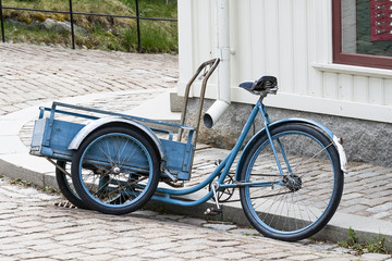 Cargo version of the bicycle