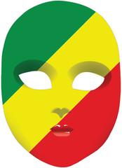 Congo Republic mask