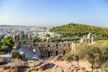 Athens. The Odeon of Herodes Atticus 7