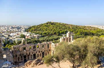 Athens. The Odeon of Herodes Atticus 8