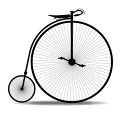 Penny Farthing Silhouette