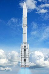 Rakete - 3D Render