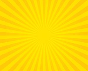 Yellow flare background. Illustration.