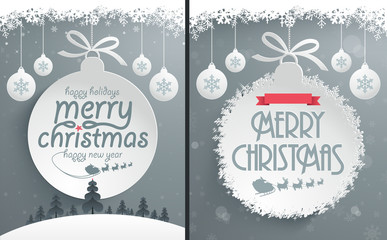 Christmas Ball Backgrounds