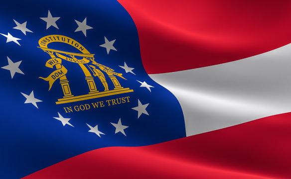 Georgia Flag U.S State