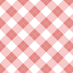 Gingham Red Seamless Pattern abstract. Retro Background