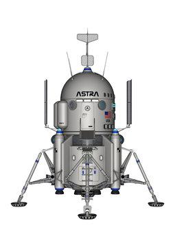 American Moon Lander