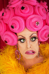 Frustrated Man in Drag