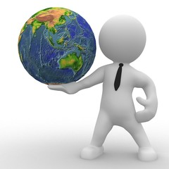 Die Welt in den Händen