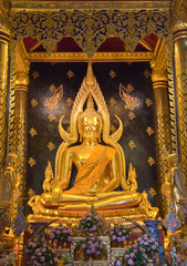 Phra Phuttha Chinnarat to be the most beautiful Buddha portrait