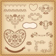 Design elements. Heart.