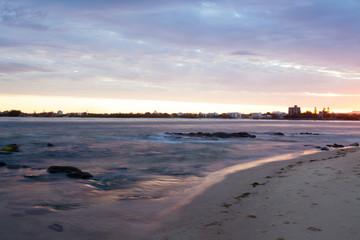 Brisbane coastline, Australia