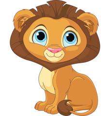 Cartoon Lion