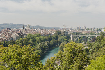 Bern, Altstadt, Aussicht Rosenberg, Hauptstadt, Schweiz