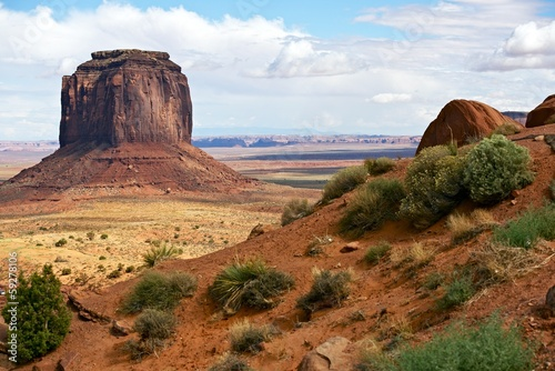 Wall mural Monuments Valley Landscape