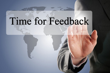ouch itime for feedback button