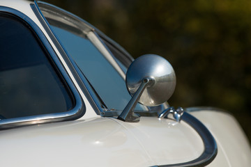 Fototapete - Close-up photo of car