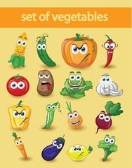 Мультфильм овощи