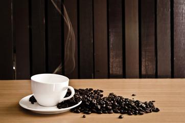 Coffee and coffee mugs