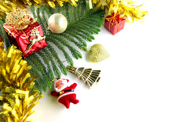 image of ideas in Christmas and New Year day.