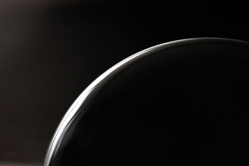 abstract picture black planet