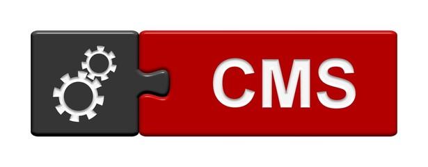 Puzzle-Button grau rot: CMS Content Management System