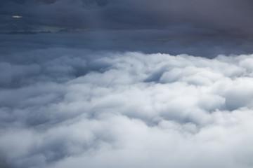Abstract misty cloud on sky