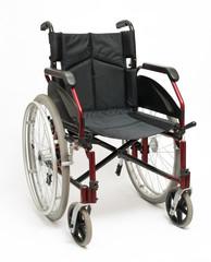 Wheelchair On White