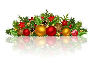 Christmas decoration. Vector EPS-10.